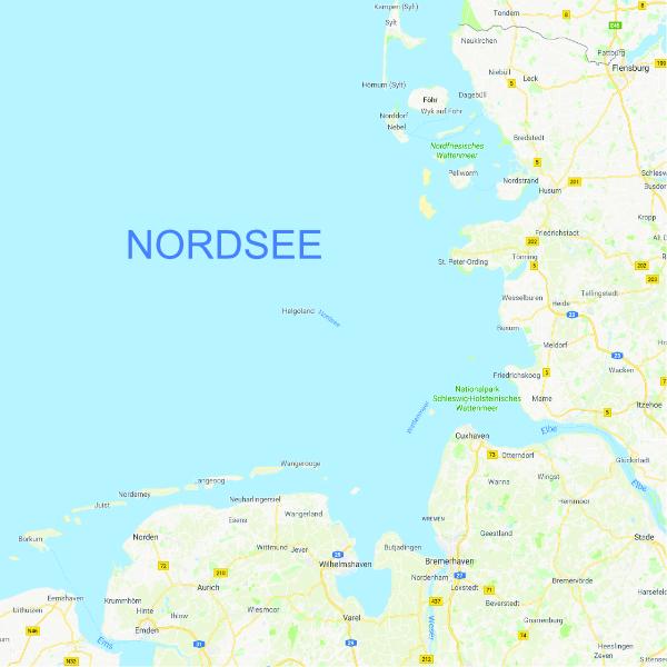 Deutsche Nordseeküste Karte.Wolfsbarsch Fangverbot 2018 Deutsche Norseeküste