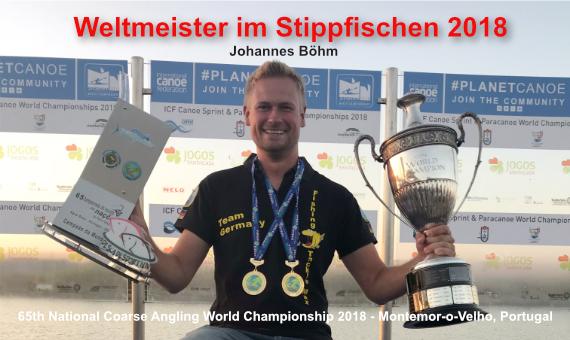 Johannes Böhm - Weltmeister im Stippfischen 2018
