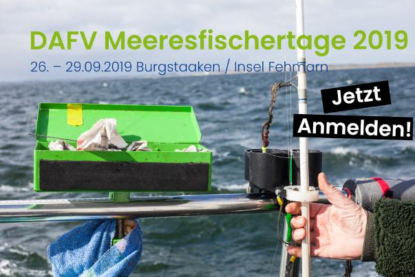 Banner Rubrikseite Angelfestivals - DAFV Meeresfischertage 2019
