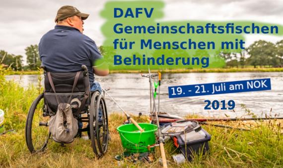 DAFV Gemeinschaftsfischen für Menschen mit Behinderung 2019