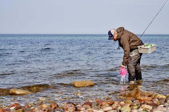 AiD Presse-News 2019 - Viele Angler, wenig Müll