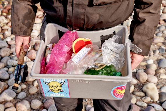 AiD Presse-News 2019 - Foto 2 - Viele Angler, wenig Müll
