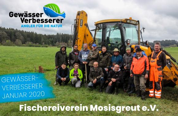 AiD Angelportal - Presse News - Fischereiverein Mosisgreut e.V. - Gewinner Gewässer-Verbesserer